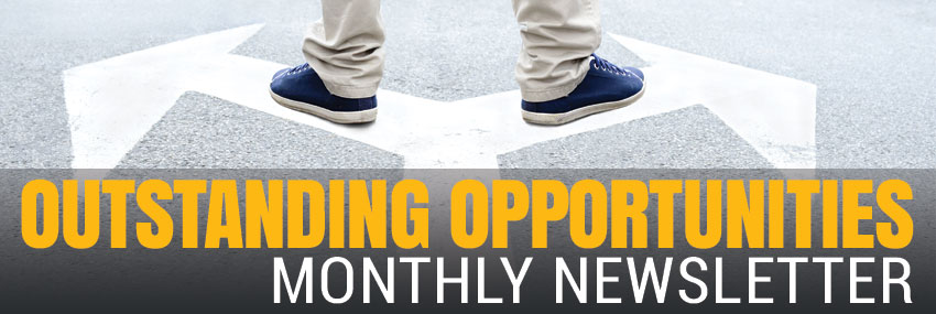 Outstanding Opportunities a monthly newsletter from AurStaff